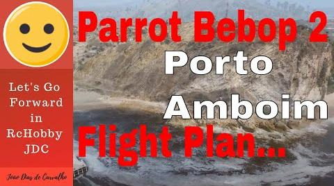 Parrot Bebop 2 Flight Plan Test