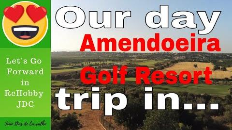 Amendoeira Golf Resort, Algarve, Portugal!